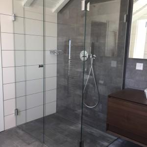Douche - vitrée
