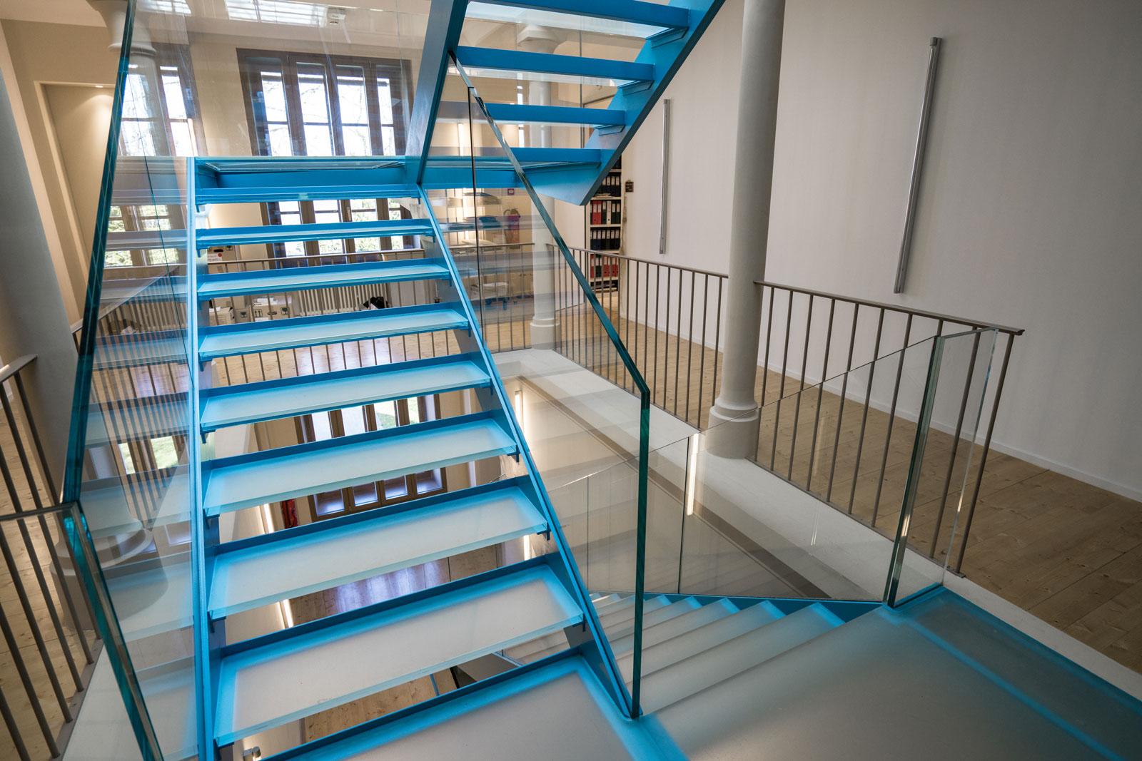 Escaliers garde-corps intérieur